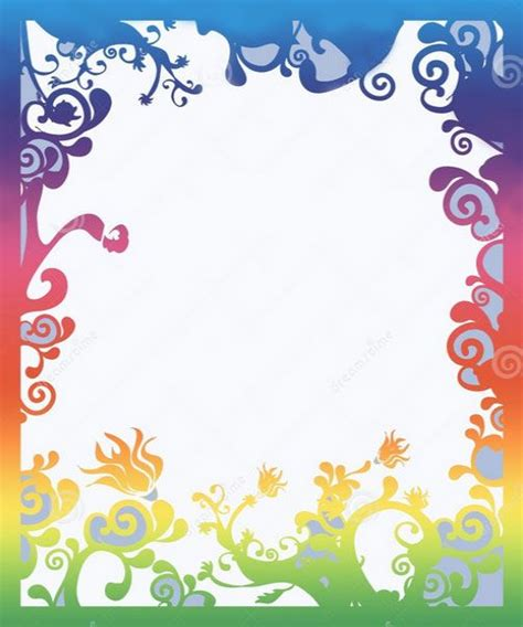 Design For Birthday Cards Borders 13 Best Images About Border Designs On Pinterest Pink