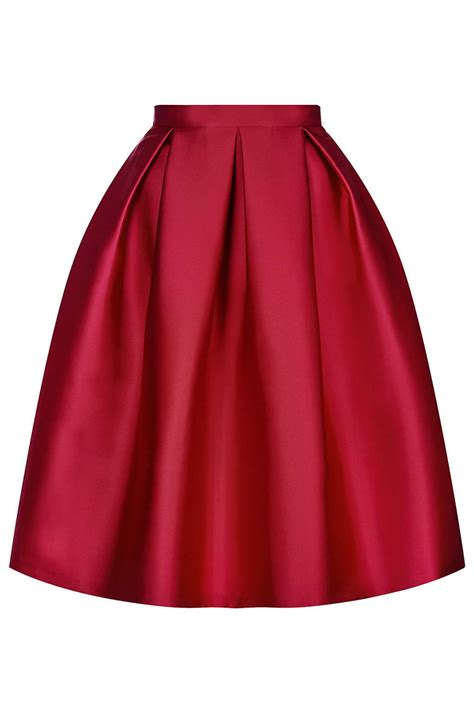 satin prom midi skirt new in this week new in