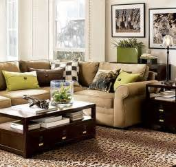 braunes wohnzimmer 12 fotos de salas en verde y marr 243 n