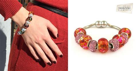 Swarovski Bracelet with Murano Beads   6 Styles