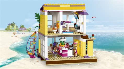 lego friends stephanie s house lego friends stephanie s beach house byrnes online