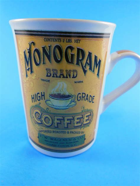 monogram brand coffee mug cup california pantry mugs cups