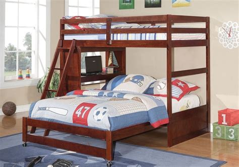 bunk bed with built in desk twin over full loft or bunk bed with built in desk in