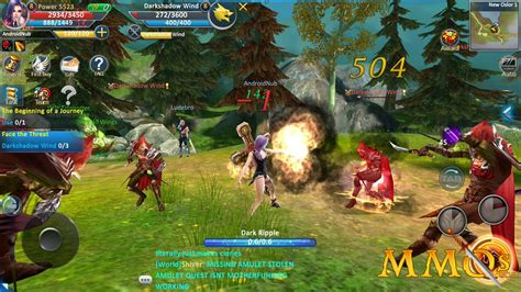 mobile mmorpgs mobile mmos  persistent worlds