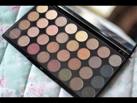eyeshadow tutorial revolution makeup revolution flawless ultra 32 shade eyeshadow