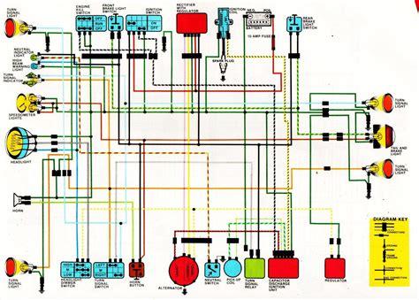 honda xl250 wiring diagram circuit wiring diagrams