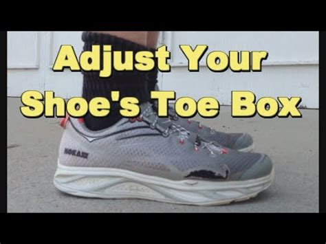 running shoes with high toe box how to adjust your running shoe s toe box