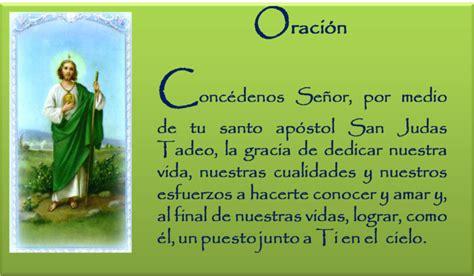 oraciones milagrosas y poderosas san judas tadeo oracion