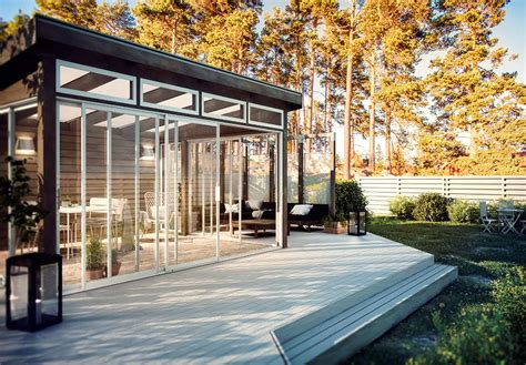 designer terrassen 2488 herlig uteliv med hagestue