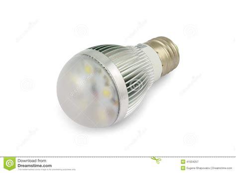 Energy Saving High Power Led Light Bulb E27 Stock Photo High Power Led Light Bulb