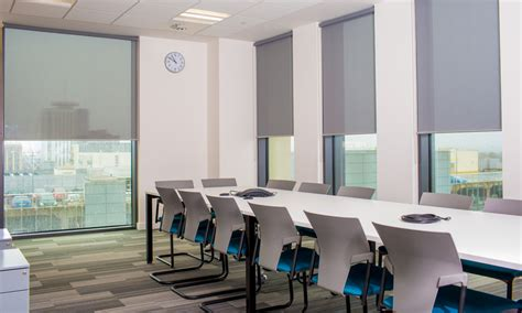 Office Fit out: Roller Blinds
