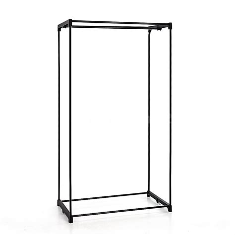 Zip Up Clothes Rack by Zip Up Fabric Closet Clothes Wardrobe Cabinet Storage