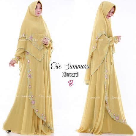 Gamis Syari Madina Black gamis syari eric summers pusat grosir baju muslim
