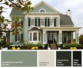 25 best ideas about green exterior paints on pinterest