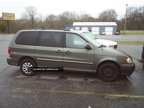 Kia Minivan 2004 2004 Kia Sedona 220k Engine Knocks