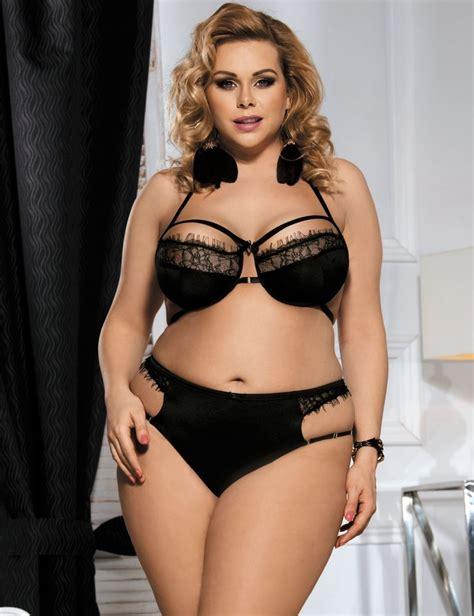 Set Toppants Black Size Xl 2 black bra set strappy pant plus siz xl 2xl 3xl 4xl 5xl 6xl eyelash lace