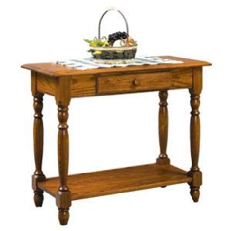 36 Sofa Table by Amish Heritage Colonial Rectangular Sofa Table With