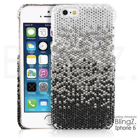 Blingcase Studed For Iphone bling bling rhinestone gem cover for iphone 6 4 7 quot inch ebay