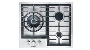Low Profile Gas Cooktop Miele 60cm 3 Burner Low Profile Gas Cooktop Domayne