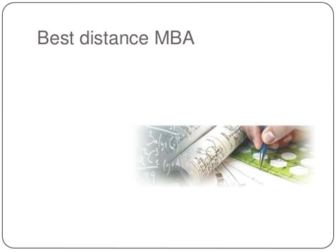 Best Mba For Your Money by Best Distance Mba In India