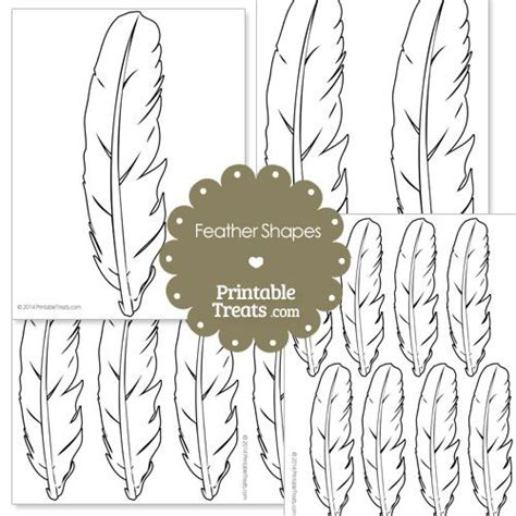 7 best images of owl printable feather template owl best 25 feather template ideas on pinterest feather