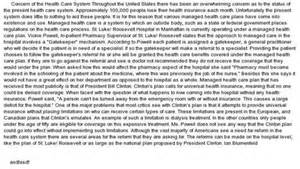 Health Care Essay by Free Health Care System Essays And Papers 123helpme