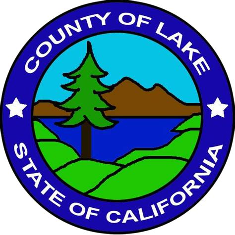 Lake County California Court Records File Seal Of Lake County California Png Wikimedia Commons