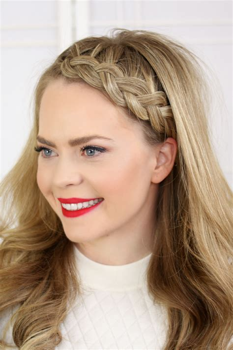 hairstyles with a hair band french braid hairstyles for women hairstyle for women