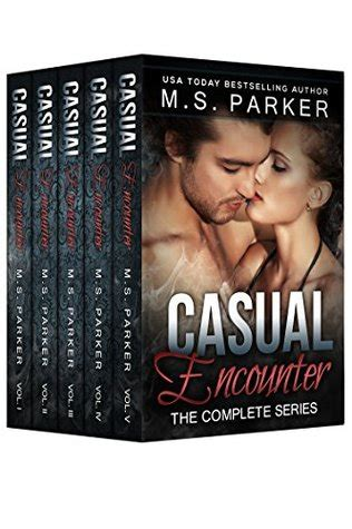 unit the new series 5 encounters books casual encounter the complete series box set by m s