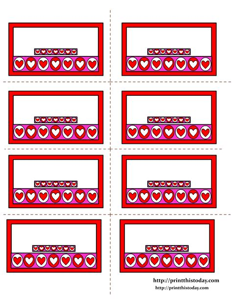 printable heart labels free printable hearts labels