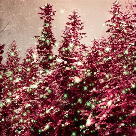 pink christmas trees pink decor sparkle print pink and