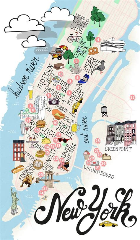 a map of manhattan new york 25 best ideas about map of manhattan on