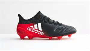 adidas x 16 1 leather quot black white quot football boots