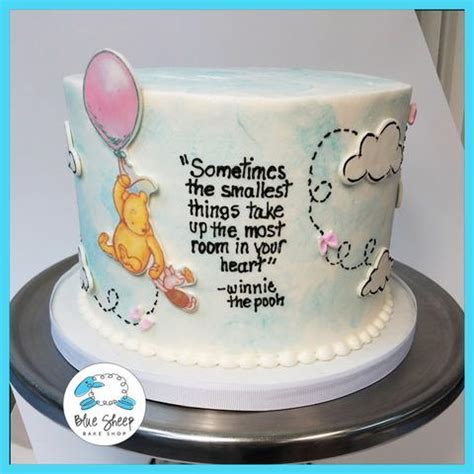 Classic Baby Shower Cakes by Baby Shower Cake Baby Cake Blue Sheep Bake Shop