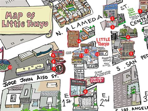 Apps For Floor Plans by Little Tokyo S Best Restaurants Attractions And More