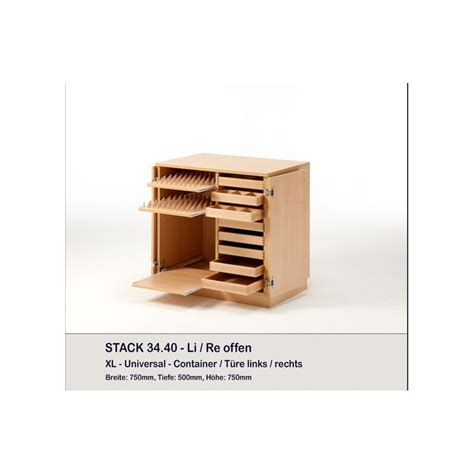 Meuble Container by Meuble Container Et 8 Plateaux Stack Rauschenberger