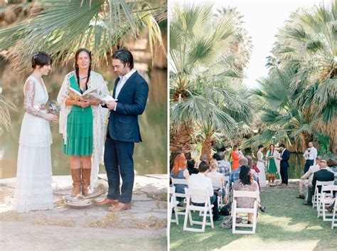 Wedding Ceremony Joshua Tree by Intimate Joshua Tree Wedding Rob Green Wedding