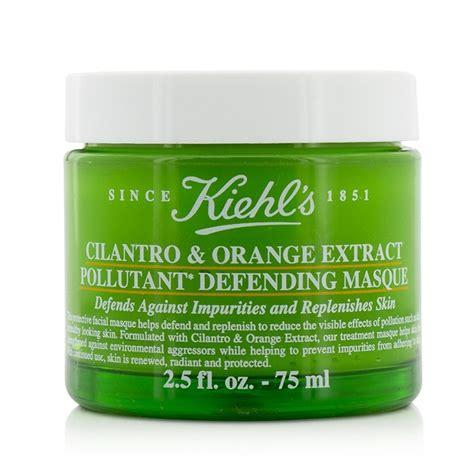 Kiehl S Cilantro Orange Extract Pollutant Defending Masque 5 Ml Tr cilantro orange extract pollutant defending masque