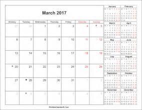 calendar template pdf march 2017 calendar pdf weekly calendar template