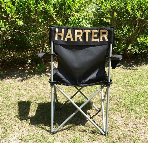 Monogrammed Chairs by Monogrammed Folding Chair Personalized Gifts