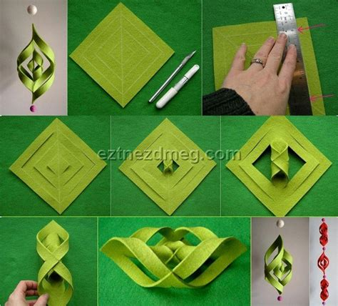 how to make christmas decorations beautiful paper how to make beautiful christmas ornaments at home