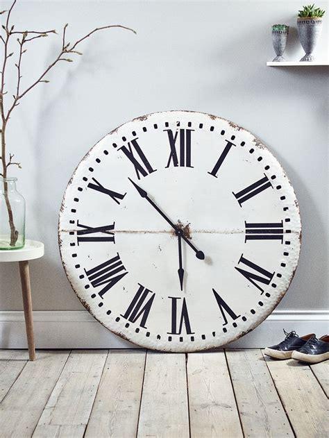 Clocks: oversized metal wall clock 60 Inch Wall Clock, 48