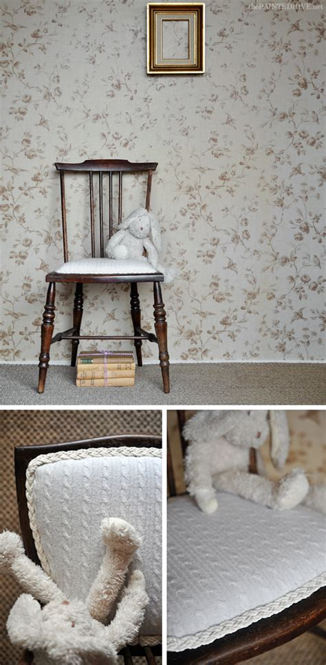 the painted hive how to upholster a chair attached seat