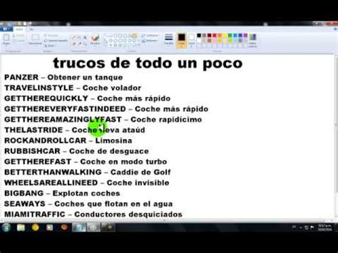 todos los trucos de gta vice city 2014 youtube