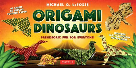 Dinosaur Origami Book - origami dinosaurs kit newsouth books