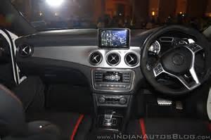 Mercedes 45 Amg Interior Mercedes Gla 45 Amg Interior Launch Indian Autos
