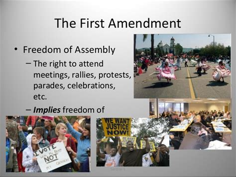 Freedom To Assemble Is Outlined In Which Amendment by Bill Of Rights