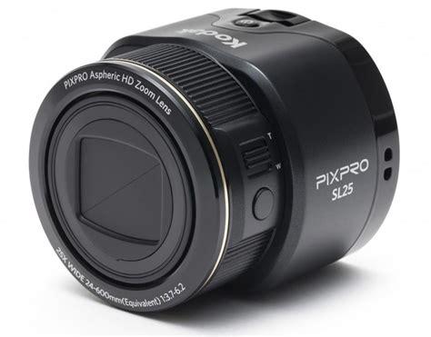 Lensa Sony Qx kodak memperlihatkan pixpro lensa pintar seumpana sony