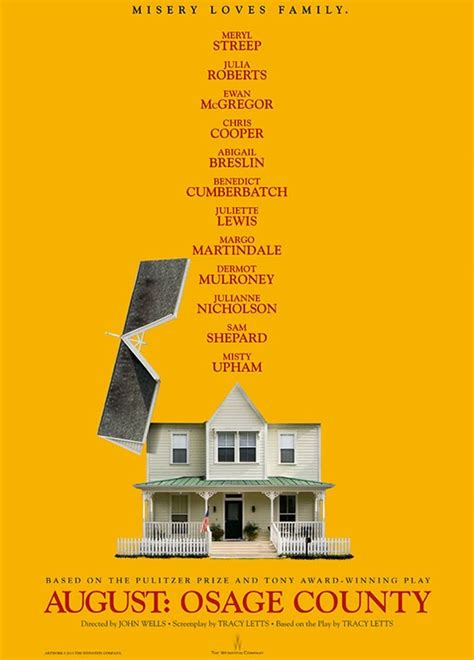 august osage county movie august osage county s new movie poster blows the roof off