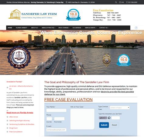 Criminal Website New Lawyer Website Criminal Attorney Web Design